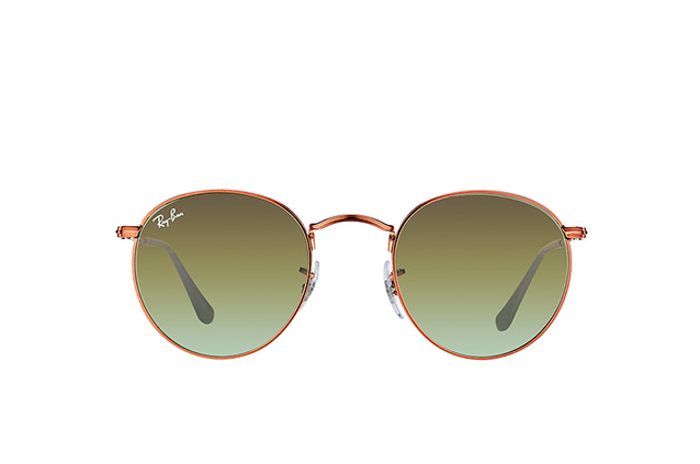 Ray-Ban Round Metal RB 3447 9002/A6 S vista en perspectiva