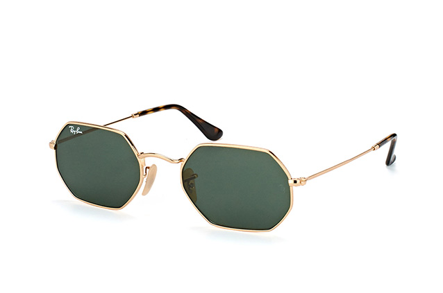 Ray-Ban RB 3556N 001 vista en perspectiva