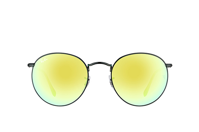Ray-Ban Round Metal RB 3447 002/4J L perspective view