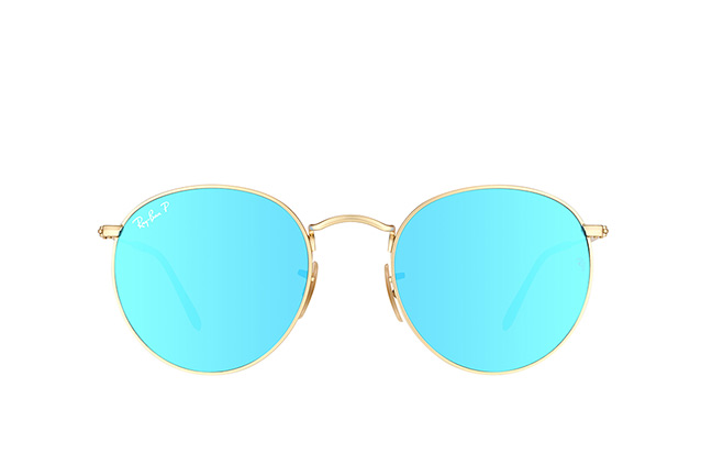Ray-Ban Round Metal RB 3447 112/4L L perspective view