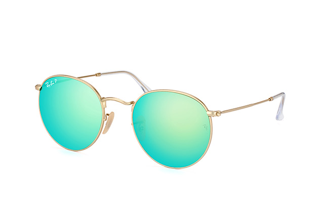 Ray-Ban Round Metal RB 3447 112/P9 L perspective view