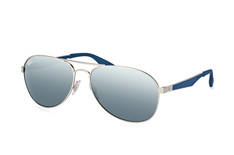 Ray-Ban RB 3549 9012/88 large, Aviator Sonnenbrillen, Silber