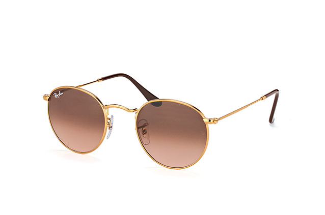 Ray-Ban Round Metal RB 3447 9001/A5 S vista en perspectiva