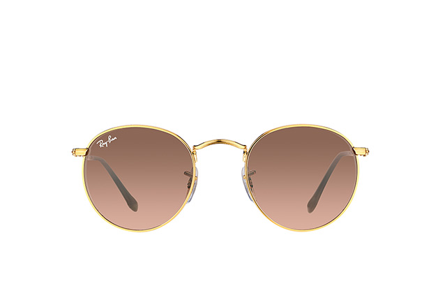 Ray-Ban Round Metal RB 3447 9001/A5 S perspective view