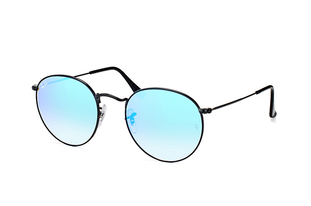 Ray-Ban Round Metal RB 3447 002/4O L perspective view