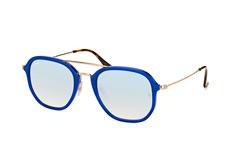 Ray-Ban RB 4273 6259/9U, Aviator Sonnenbrillen, Blau