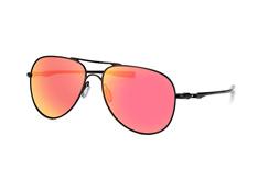 Oakley Elmont L OO 4119 04, Aviator Sonnenbrillen, Schwarz