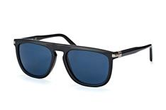 Calvin Klein CK 3197S 001, Aviator Sonnenbrillen, Schwarz