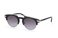 Calvin Klein CK 4318S 001, Browline Sonnenbrillen, Schwarz