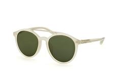 Phillip Lim PL 90 4 Milk Silver Green, Round Sonnenbrillen, Transparent