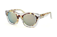Phillip Lim PL 137 2 CAT 3, Square Sonnenbrillen, Transparent