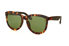 The Row RO 74 Tortoise Shell, Square Sonnenbrillen, Braun