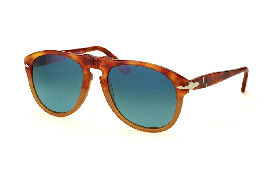 PO 649 1025S3, Aviator Sonnenbrillen, Havana