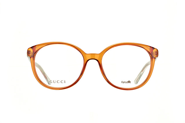 Gucci GG 3698-OA2 Tobacco Crystal Perspektivenansicht