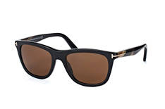 Tom Ford Andrew FT 0500/s 01H, Square Sonnenbrillen, Schwarz