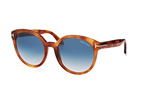 Tom Ford Philippa FT 0503/S 53W Havana / Gradient blue perspective view thumbnail