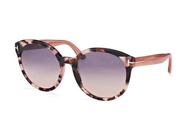 Tom Ford Sonnenbrille »Philippa FT0503«, braun, 56B - havana/grau