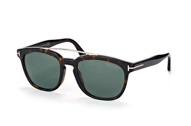 Tom Ford Holt FT 0516/S 52R Perspektivenansicht