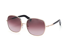 Tom Ford Georgina FT 0499/s 28T, Round Sonnenbrillen, Goldfarben