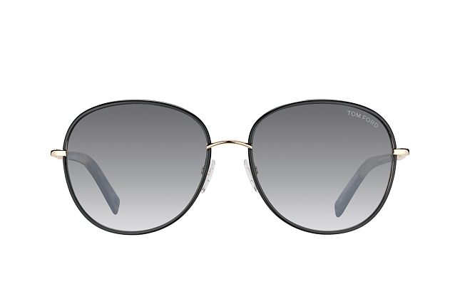 Tom Ford Georgia FT 0498/S 01B perspective view