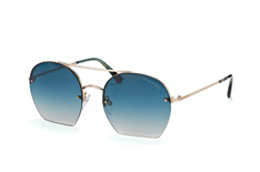 Tom Ford Antonia FT 0506/s 28W, Aviator Sonnenbrillen, Goldfarben