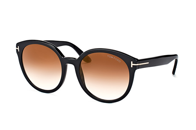 Tom Ford Philippa FT 0503/S 01G Perspektivenansicht