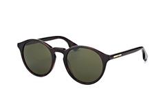 McQ MQ 0039S 001, Round Sonnenbrillen, Dunkelbraun