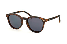 Le Specs Bandwagon LSP 1502122, Round Sonnenbrillen, Braun