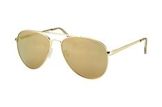 Le Specs Drop Top LSP 1502108, Aviator Sonnenbrillen, Goldfarben