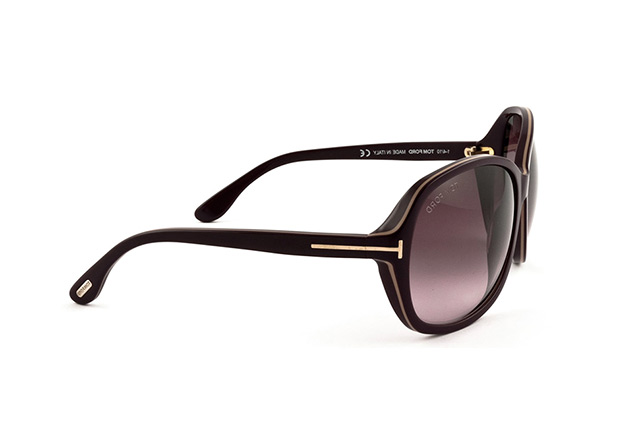 Tom Ford Sheila FT 0186 83Z vue en perpective