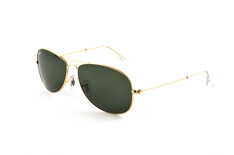Ray-Ban RB small 3362 Cockpit 001 , Aviator Sonnenbrillen, Gruen