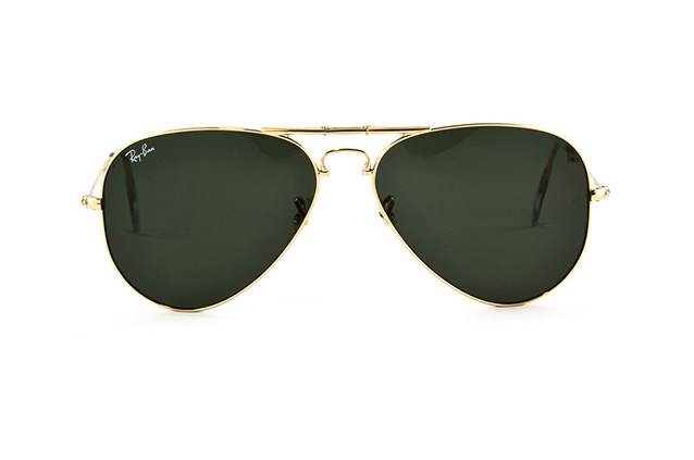Ray-Ban Folding Aviator RB 3479 001 Perspektivenansicht