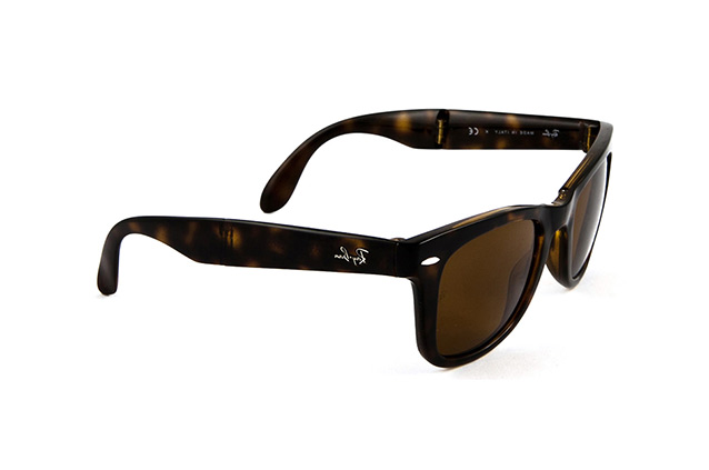 Ray-Ban Folding  Wayfarer RB 4105 710 perspective view