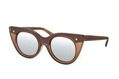 Le Specs Luxe Nefertiti LSP 1602087, Butterfly Sonnenbrillen, Braun