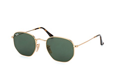 Ray-Ban Hexagonal RB 3548N 001 S klein
