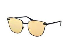 Le Specs Luxe Pharaoh LSP 1602089, Square Sonnenbrillen, Schwarz