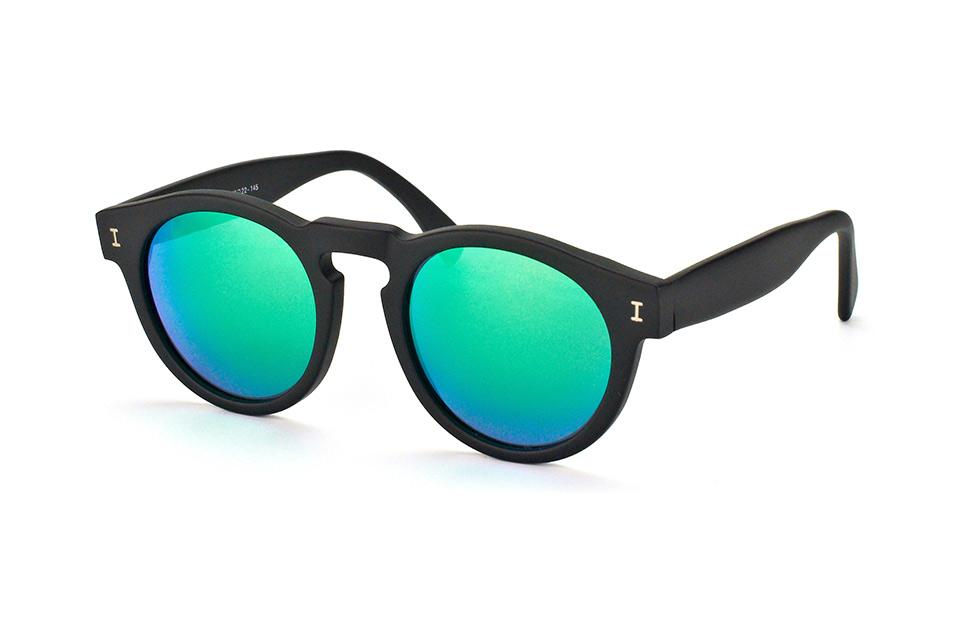 Illesteva IL Leonard-black with green