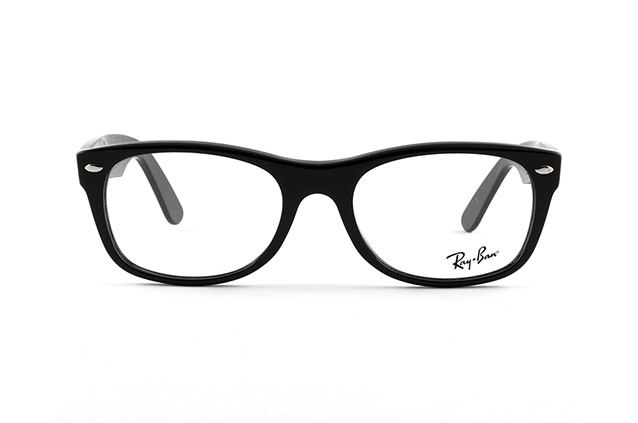 Ray-Ban NEW WAYFARER RX 5184 2000 L vista en perspectiva