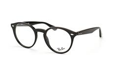 Ray-Ban RX 2180V 2000 small, Round Brillen, Schwarz