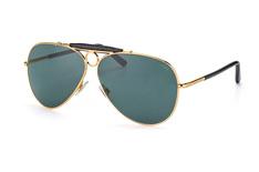 Polo Ralph Lauren PH 3091Q-9004R5, Aviator Sonnenbrillen, Goldfarben