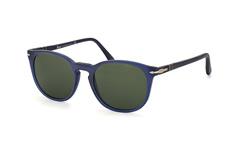 Persol PO 3007S 902031, Round Sonnenbrillen, Blau
