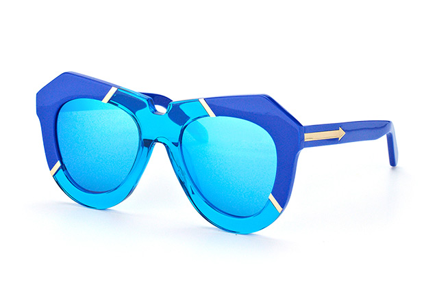 Karen Walker Eyewear KW One Splash Sea Blue Perspektivenansicht