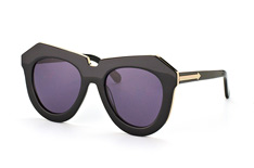 Karen Walker Eyewear KW One Meadow Black Gold tamaño pequeño