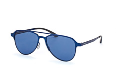 adidas Originals AOM 005 021.000, Aviator Sonnenbrillen, Blau