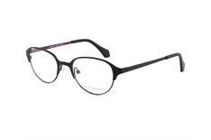 Scandinavian Frames SF MS 8010 c1, Round Brillen, Schwarz