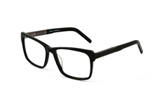 Triple X TX A6 C1, Square Brillen, Schwarz