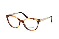 Versace VE 3237 5208, Butterfly Brillen, Havana