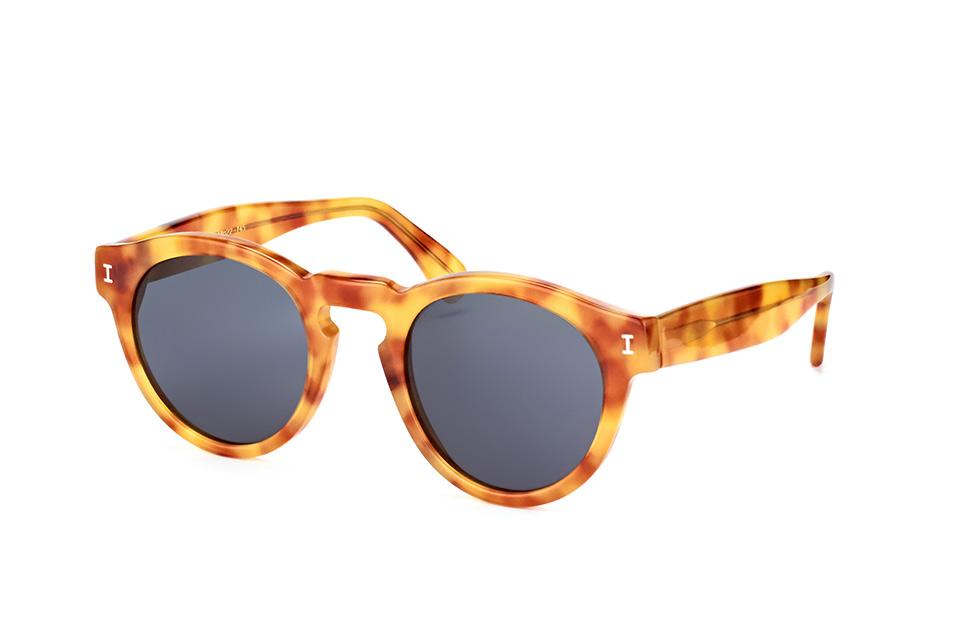 Illesteva Leonard C72, Round Sonnenbrillen, unisex, Größe: Medium, Farbe: Havana, Material: Kunststoff / Plast, Hersteller: Illesteva, Styl: Classic. Brillenbreite: Fullframe mm, Glashöhe: 43 mm, Glasbreite: 48 mm, Stegbreite: 22 mm, Bügellänge: 145 mm.