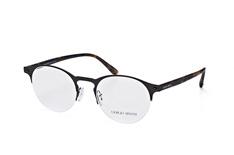 Giorgio Armani AR 5064 3001, Round Brillen, Schwarz auf Rechnung bestellen