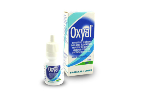 Kuva tuotteesta Oxyal-silmätipat